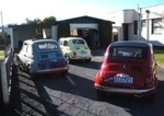 photo of several fiat motor cars